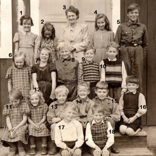1945 Lillträsk skola