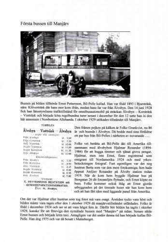 Första Bussen till Manjärv