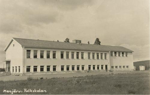 Manjärv Folkskolan