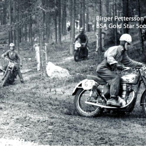 Birger Pettersson BSA Gold Star 500-cc