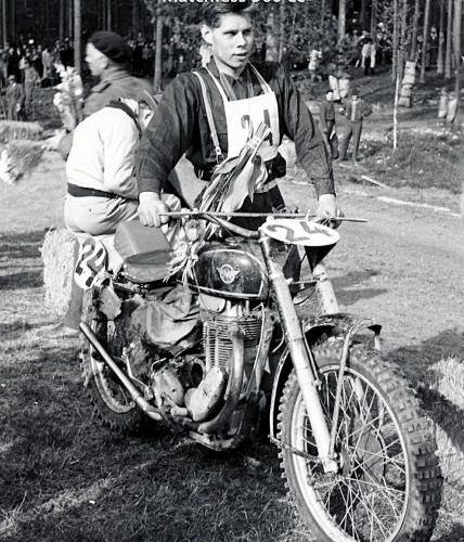 Lennart Skoglund Botkyrka MK Matchless 500 cc