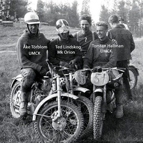 Åke Törblom UMCK,Ted Lindskog Mk Orion, okänd, TorstenHallman UMCK