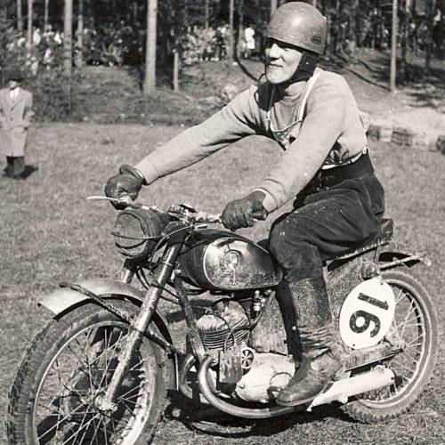 Gunnar Lindvall JMK PUCH 175 cc