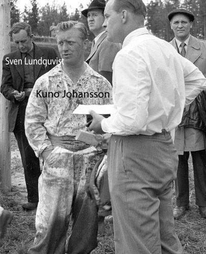 Kuno Johansson, Sven Lundquvist, Ture Landström och Toivo Pettersson