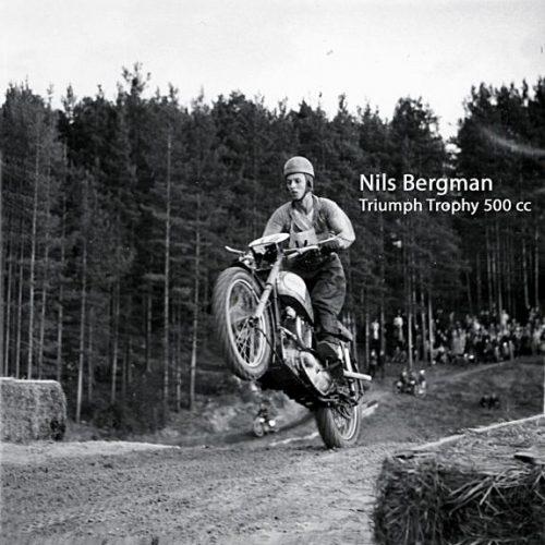Nils Bergman Triumph Trophy 500 cc