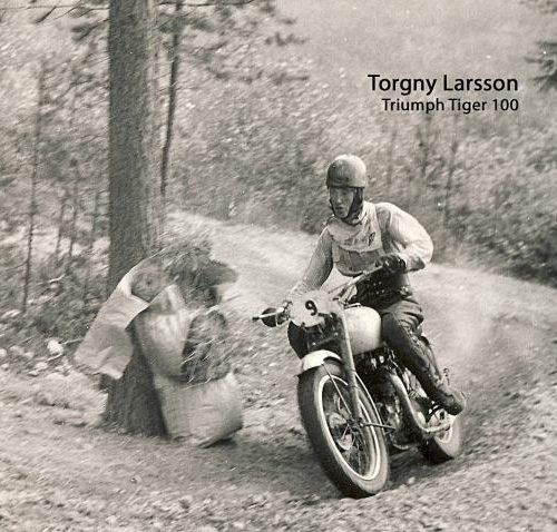 Torgny Larsson Triumph Tiger