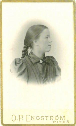 Anna Lovisa Berglund f.1873-12-11 i Muskus