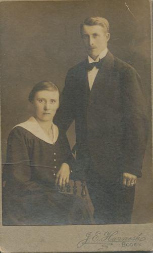 Ebba Bohman och Gustaf Boman
