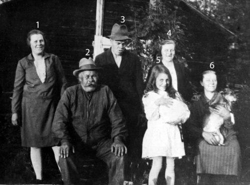 Familjen Frans och Elisabeth Björkman, Muskus