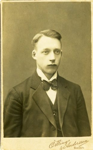 Frans* Leander Lidman f.1896-07-04 Brattfors