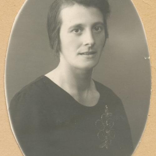 Elin* Margareta Berggren f.1898-07-25 Muskus 4 d.1970-09-19.