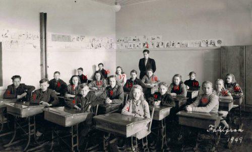 1949 skolaklass Nybyn