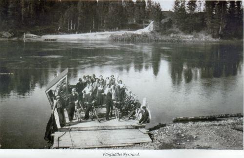 Färjestället i Nystrand