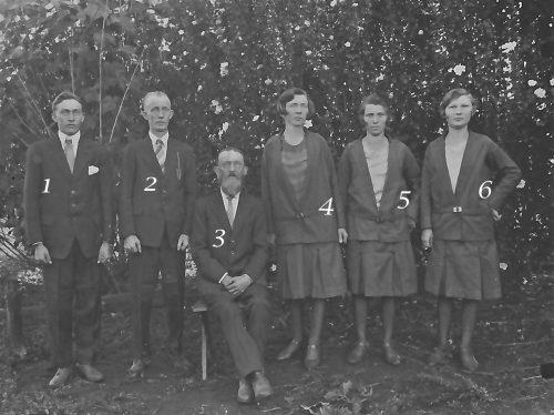 Petter Anton Olofssons familj