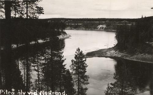 Piteå älv vid Nystrand
