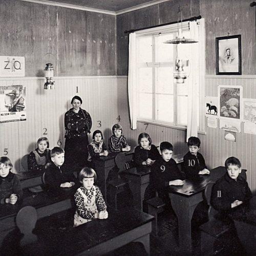 1937 skolklass i Nystrand