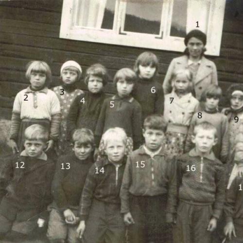 klass 1 Nystrand
