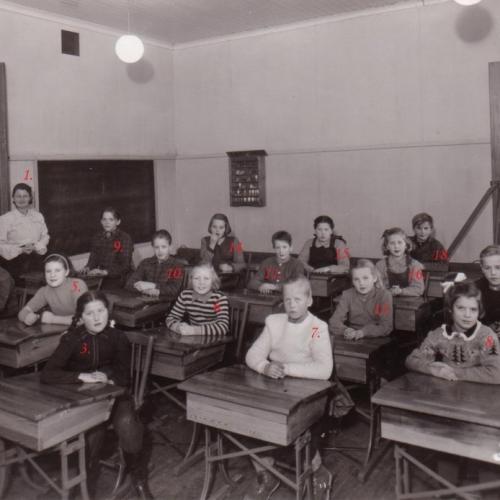 1948 klass 3-6 Nystrand