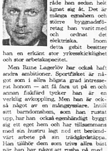 Lagerlöv Rune Älvsbyn 50 år 14 Juni 1965 PT