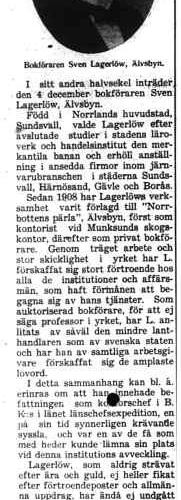 Lagerlöw Sven Älvsbyn 50 år 3 Nov 1931 NA