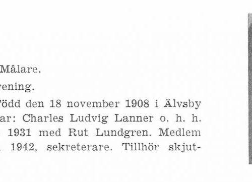 Lanner Ludvig 19081118 Från Svenskt Porträttarkiv