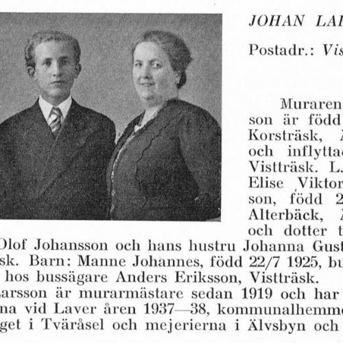 Larsson Johan & Manne Johannes & Bexel Johanna Gustava Från Svenskt Porträttarkiv