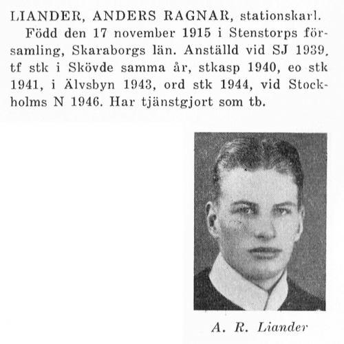 Liander Anders Ragnar 19151117 Från Svenskt Porträttarkiv