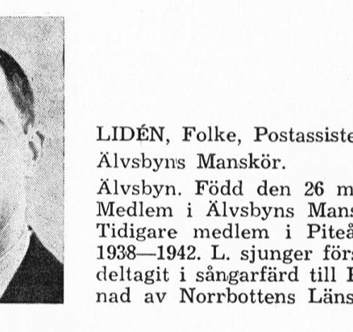 Lidén Folke 19130526 Från Svenskt Porträttarkiv