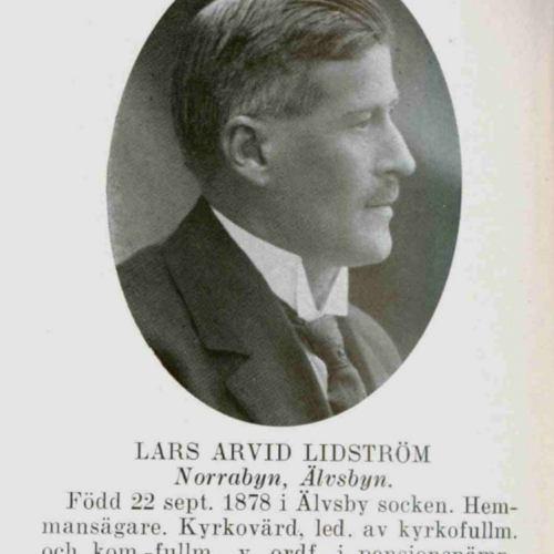 Lidström Lars Arvid Norrabyn Älvsbyn