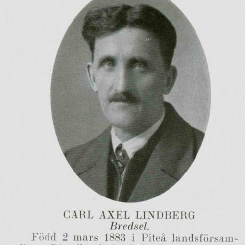 Lindberg Carl Axel Bredsel