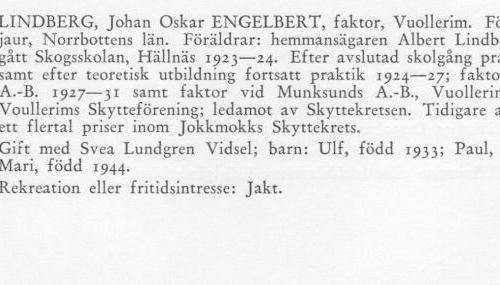 Lindberg Engelbert 18980728 Från Svenskt Porträttarkiv