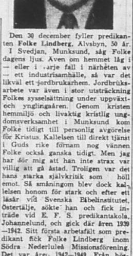 Lindberg Folke Älvsbyn 50 år 30 Dec 1959 NK