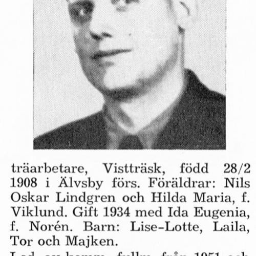 Lindgren Karl 19080228 Från Svenskt Porträttarkiv