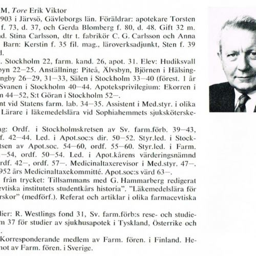 Lindham Tore 19030228 Från Svenskt Porträttarkiv d