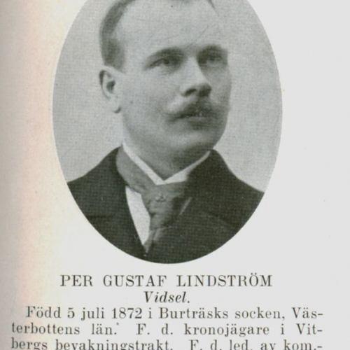 Lindström Per Gustaf Vidsel