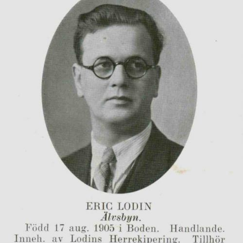 Lodin Eric Älvsbyn