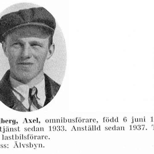 Lundberg Axel 19150606 Från Svenskt Porträttarkiv
