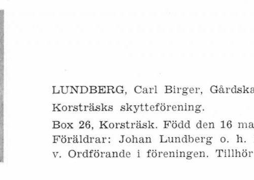 Lundberg Carl 19050316 Från Svenskt Porträttarkiv