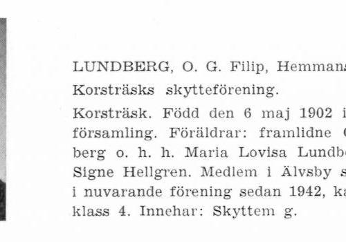 Lundberg Filip 19020506 Från Svenskt Porträttarkiv