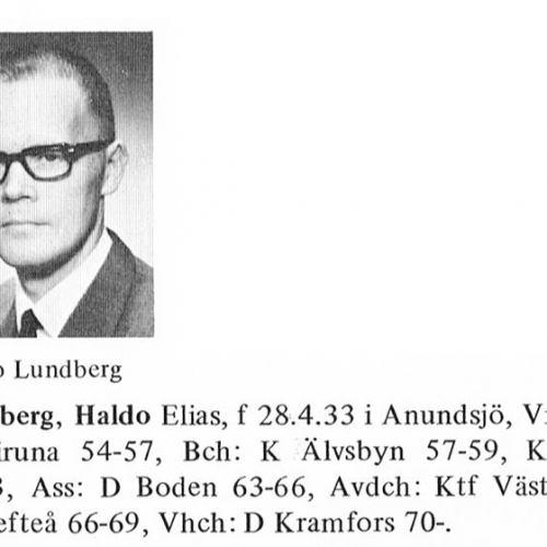 Lundberg Haldo 19330428 Från Svenskt Porträttarkiv