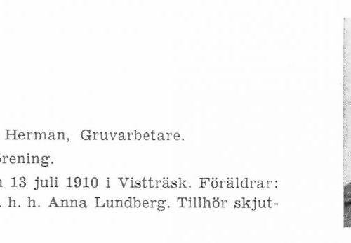 Lundberg Olof 19100713 Från Svenskt Porträttarkiv