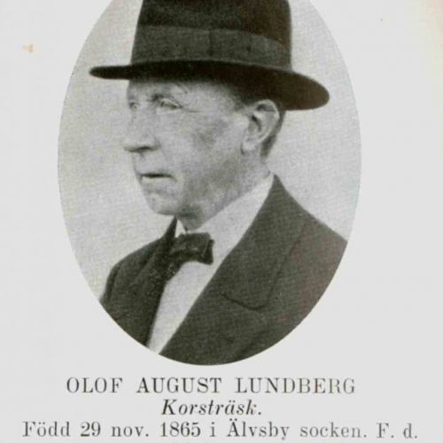 Lundberg Olof August Korsträsk