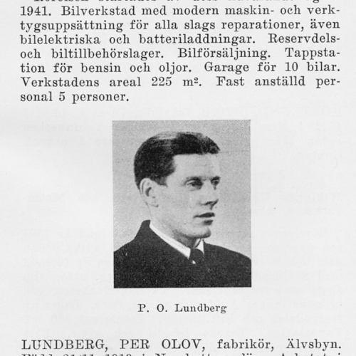 Lundberg Per 19131121 Från Svenskt Porträttarkiv