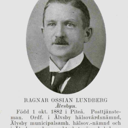 Lundberg Ragnar Ossian Älvsbyn