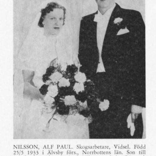 Nilsson Alf Paul & Skoog Gerd Från Svenskt Porträttarkiv