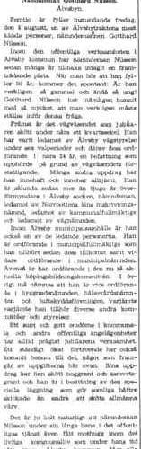 Nilsson Gotthard Älvsbyn 50 år 2 Aug 1945 NK