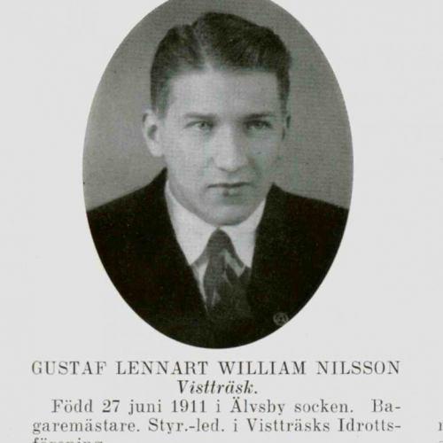 Nilsson Gustaf Lennart William Vistträsk