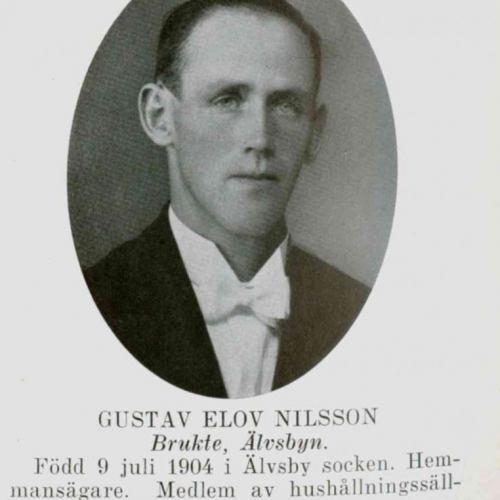 Nilsson Gustav Elov Brukte Älvsbyn