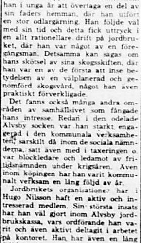 Nilsson Hugo Brukte död 9 maj 1964 PT