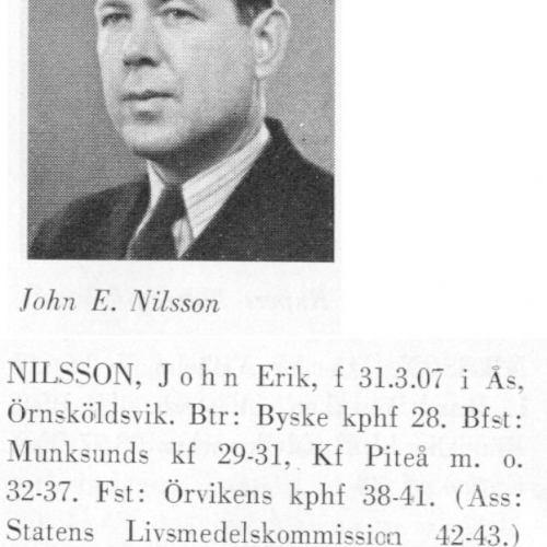 Nilsson John 19070331Från Svenskt Porträttarkiv